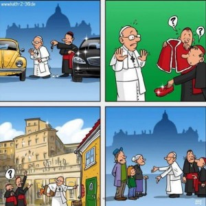 New thinga about new pope