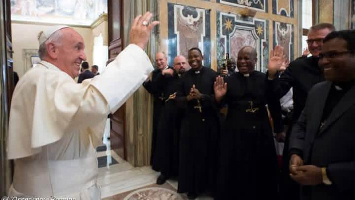 Pope to OMI Chapter