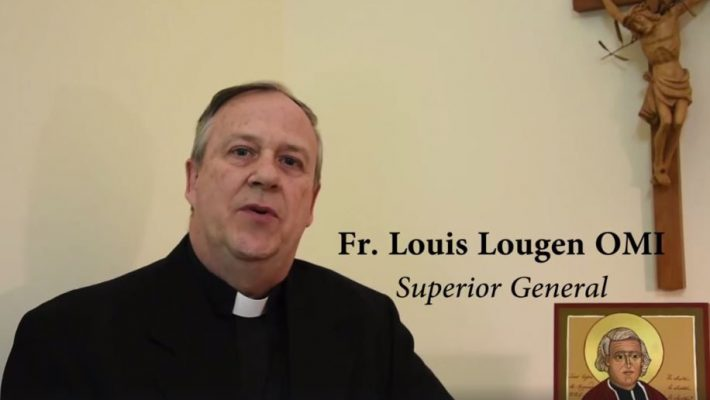 Fr. Louis Lougen, OMI, reelected Superior General