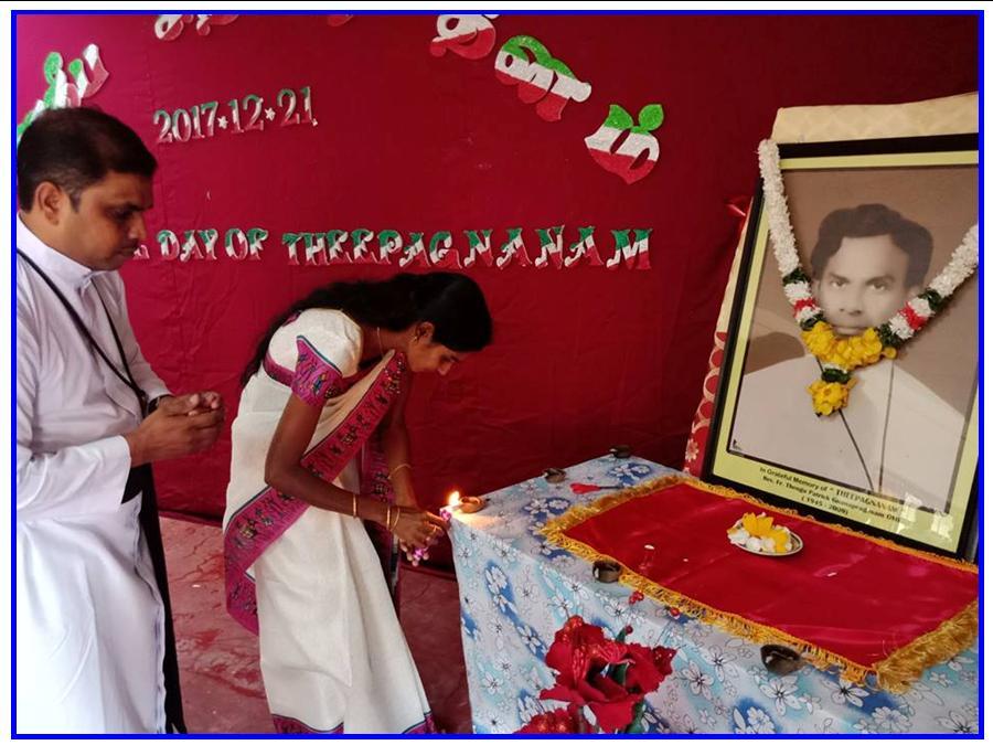 Dheepagnanam Memorial Day!