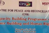CPR – Human Rights Workshop