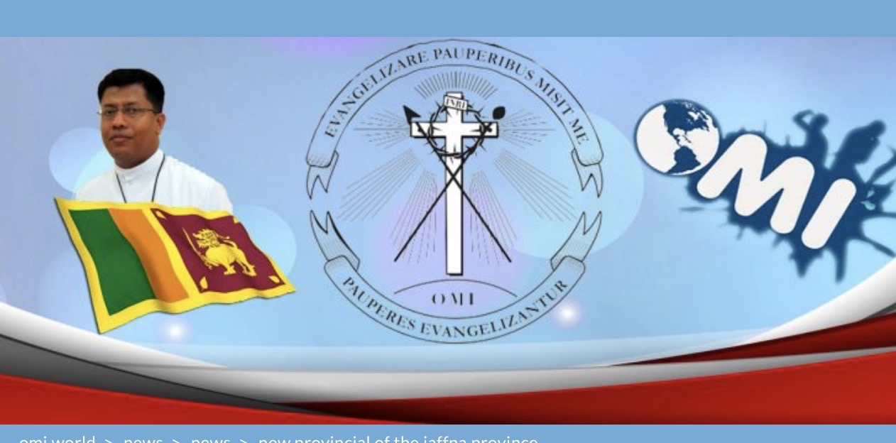 New Provincial of the Jaffna Province