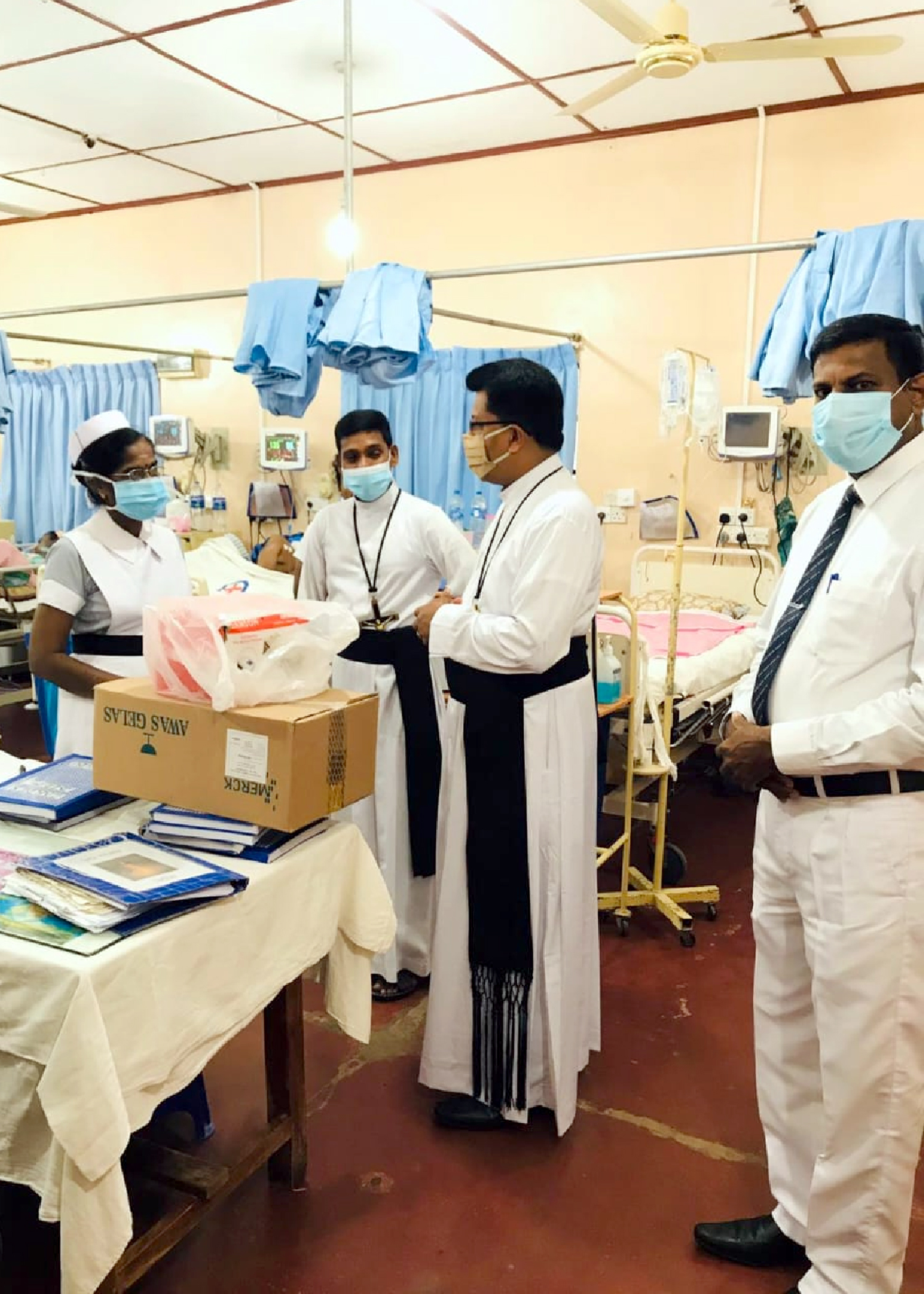 Donation to the General Hospital in Jaffna