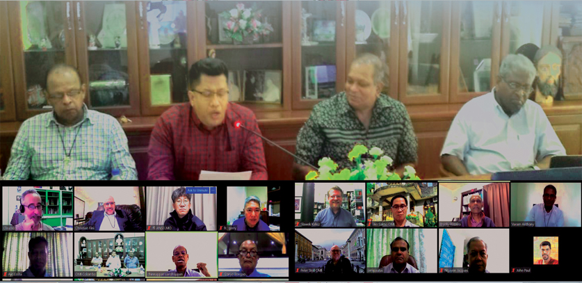 AORC – 01st of March -5th of March, 2021  Zoom Conference held in Colombo